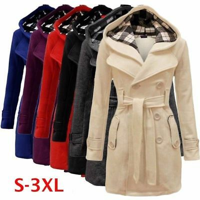 Warm Fashion Women's Winter Thicken Coat Hood Parka Long Jacket Overcoat Outwear