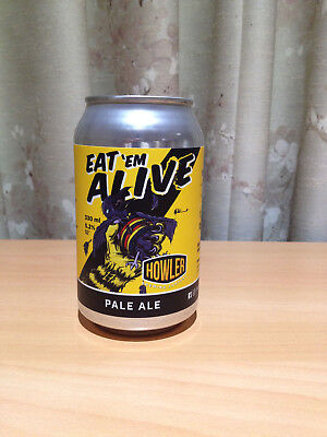HOWLERS' Limited Edition Richmond Tigers Premiership beer can (unopened)
