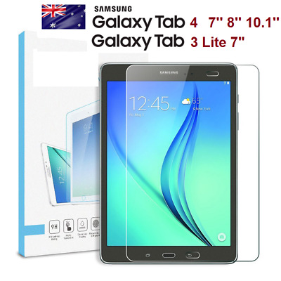 """Tempered Glass Screen Protector SAMSUNG TABLET TAB 4 7.0/8.0/10.1"""" TAB 3 LITE 7"""""""
