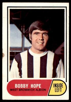 A&BC Football Green Back 1969 (B2) Bobby Hope - West Bromwich Albion No. 21