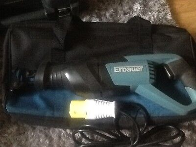 Erbauer 110v ERA568RSP Recipracating saw,,,pat tested