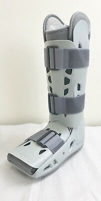 New Aircast Airselect Elite Foot Ankle Cast Size Small