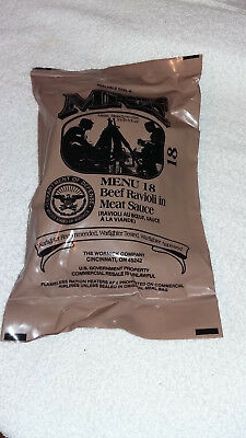 Mre U.s Ration Pack Menu 18, Camping, Hiking,fishing, Airsoft,survival