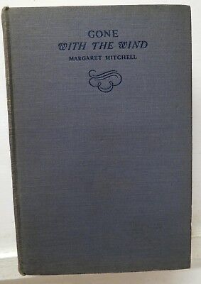 Gone  with the Wind, Margaret Mitchell, 1936 / 1938, Macmillan - VGd
