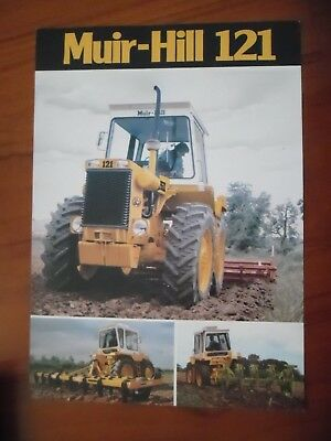 Muir-Hill 121 Tractor Sales Leaflet