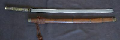 Antique Kachin Dha Sword, Burma, good condition