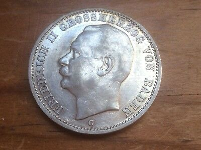 1914-G GERMANY, Baden, 3 MARKS, lot 38 @@ Must See @@ lot 426