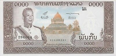 Lao 1000 Kip Banknote,(1960) Uncirculated Condition Cat#14-B
