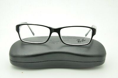 47f63a8a92 RAY BAN RB 5169 2034 Black on Clear Eyeglasses 54mm + Case -  87.25 ...