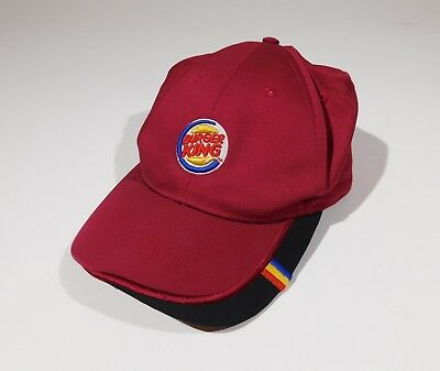 Burger King Restaurant Logo Employee Work Uniform Baseball Hat Cap adjustable
