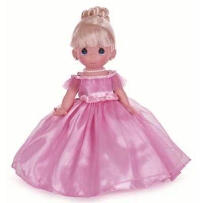 Precious Moments 12 Inch Vinyl Doll, 'Prettiest One Of All', Blonde, 4761A, New