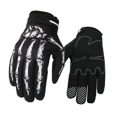 Windproof Motorcycle Bicycle Horse Racing Riding Cycling Leather Gloves M L XL