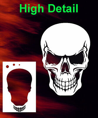 skull 27 airbrush stencil spray vision template air brush 14 98