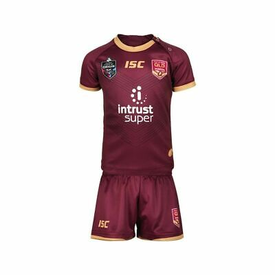 Queensland Maroons State of Origin 2018 On Field Jersey Toddlers Sizes 0-4!