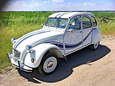 citroen 2cv beachcomber fully restored with galvanised chassis  hand made trim