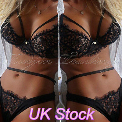 Womens Lace Sexy/Sissy Babydoll G-String Underwear Ladies Lingerie Mini Dress W