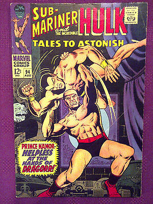 Tales to Astonish  #94 VG/FN