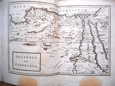 Antique Map Of Egypt And Cyrenaica. 1789. Geographia Antiqua. Africa
