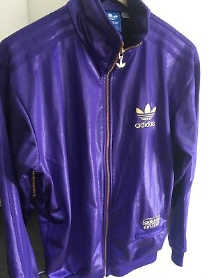 Adidas Chile 62 Track Top Jacket WhiteGreen | Jacket