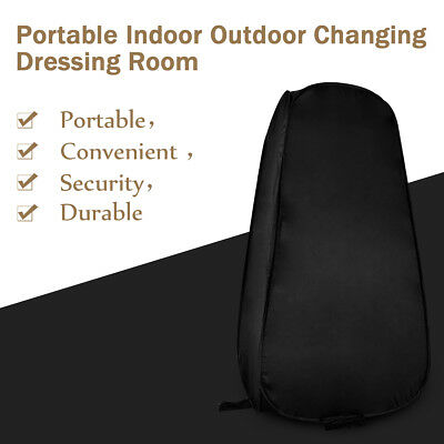 Outdoor Pop Up Camping Toilet Shower Tent Changing Dressing Fitting Room Shelter
