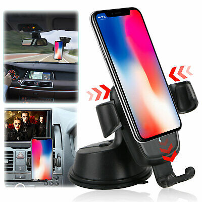 360 Degree Universal Car Holder Stand Mount Windshield Bracket for Cell Phone