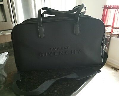 374a8af3e684 GIVENCHY PARFUMS BLACK Duffle  Travel Weekend Bag -  25.00