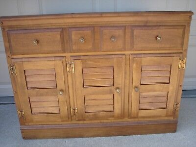 HEYWOOD WAKEFIELD Maple Buffet Cabinet C 2012 Excellent Condition