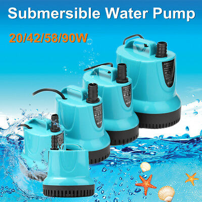 Submersible Water Pump Aquarium Fish Tank Pond Fountain Waterfall 90W 4500L/H