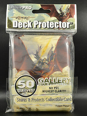 Ultra Pro Gallery Deck Protector, Dragon, 50 Sleeves, Kartenhüllen, (66x91), MTG