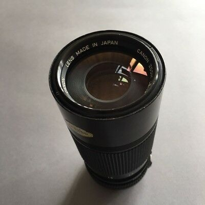 Canon Fd 70-150mm MF zoom in fabulous condition.