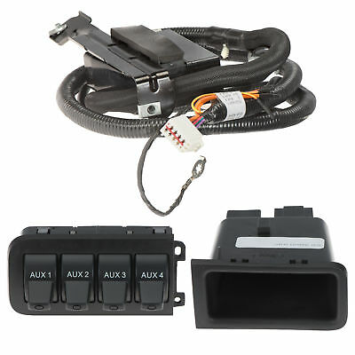 OEM-In-Dash-Uper-Switch-Tray-Box-Jumper-Wire Radio Wire Harness Diagram Ford Mustang on