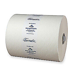 Cormatic Hardwound Roll Towels, 8 1/4in. x 702ft., Carton Of 6