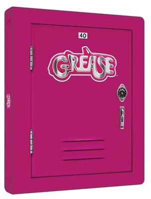 Grease 1-2 40th Anniversary Steelbook 2-Disc Blu Ray