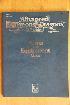 AD&D 2nd ed. sourcebook - Arms and Equipment Guide