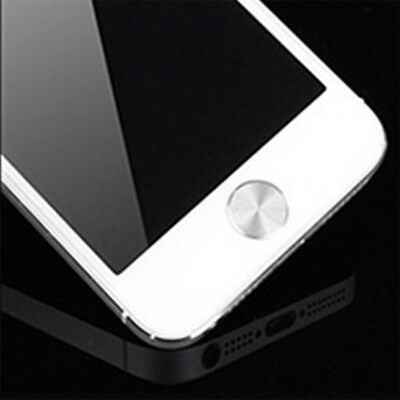 Cool Aluminizing Metal Cellphone Home Button Sticker Decal for iPhone 5 6 7 8 X