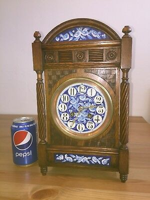 Antique Bracket Clock By Japy Freres. C1890.