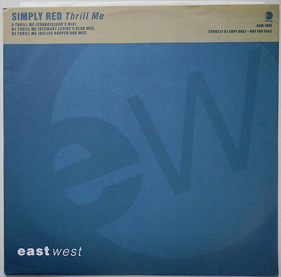 """12"""" Uk**simply Red - Thrill Me (Eastwest '92 / Promo)***20426"""
