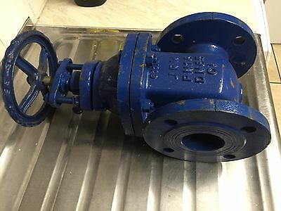 """2.1/2"""" Gate Valve 63.5 mm Water Slurry Chemical"""