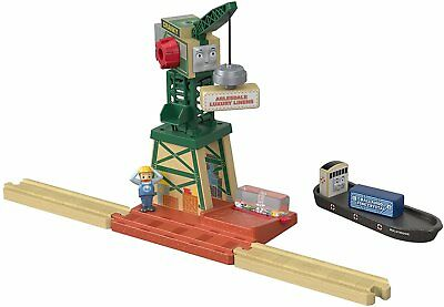 Thomas & Friends FHM72 Wood Cranky At the Docks Playset