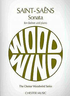 Sonata for Clarinet and Piano - NEW - 9780711920224 by Saint-Saens, Camille (COP