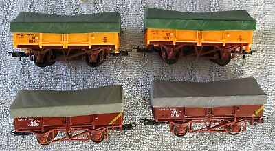 4 x Victorian Railways V/Line VR GY Class Grain Wagons Carriages - Lima - HO OO