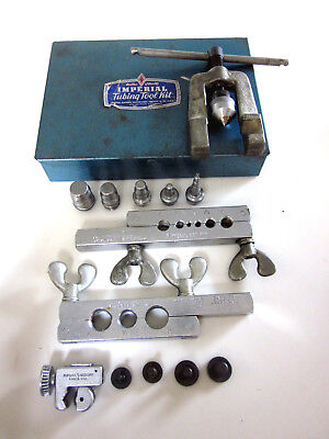 Imperial Tubing Tool Kit - Flaring, Swaging & Cutting Tool Kit - Made In  U.s.a.
