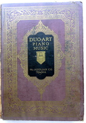 1927 Great Hardcover DUO-ART Reproducing Piano Rolls CLASSIFIED CATALOG 480pp