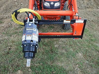 Kubota Tractor Attachment - Danuser EP 10 Hex Auger Drive Unit - Ship $199