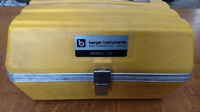 Berger, Model 290 Transit Level with Case
