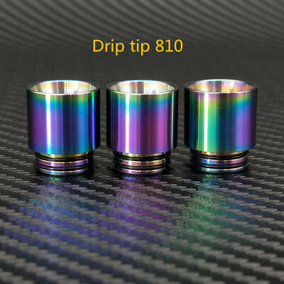 Rainbow 810 Thread Drip Tip for SMOK TFV8 TFV12 Prince Driptips Stainless Steel