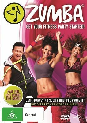 Zumba Fitness DVD, 2016 Region 2, 4 New Sealed