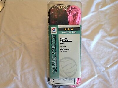 NEW Sportcraft Competition Deluxe Volleyball (Volley Ball) Net w/ Top Cable