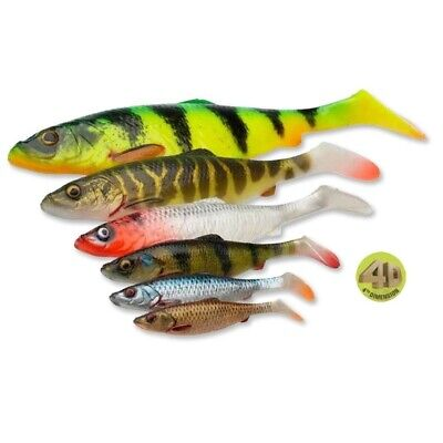 Savage Gear 4D lb Herring Shad 16/19/25cm Loose Body Leurres en Gomme Swimbait