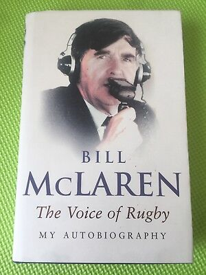 The Voice of Rugby: My Autobiography by Bill McLaren (Hardback, 2004)